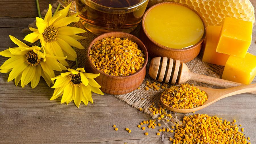 Лечение пчелиной пыльцой